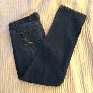 Gloria Vanderbilt Embellished Jeans